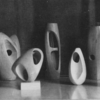 George Wallace - Early Wooden Carvings, c.1948