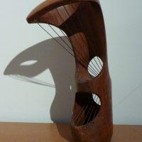 George Wallace - Wood Carving, 1945, Irish oak