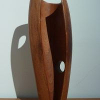 George Wallace - Wood Carving, 1946, elm