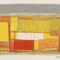 George Wallace - Prairie, 1955, 4 colour lithograph
