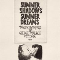 George Wallace - Summer Shadows Summer Dreams Portfolio Cover, Twelve Etchings by George Wallace, 1995, etching
