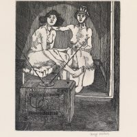 George_Wallace - Sunlit Morning, plate #4, 1995, etching