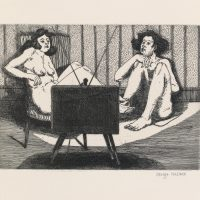 George_Wallace - Early Afternoon, plate #6, 1995, etching