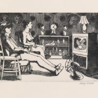 George_Wallace - Afternoon, plate # 7, 1995, etching & aquatint