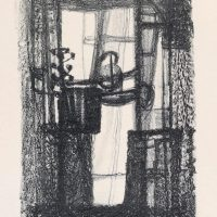 George Wallace - Disused Pit Shaft, 1955, lithograph