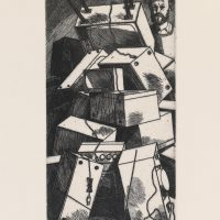 George_Wallace - Day of Reckoning, plate #12, 1995, etching