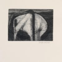George Wallace- St. Austell Remembered Plate #10, Disused Workings, 1997, etching
