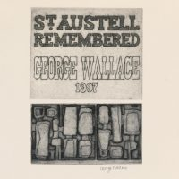 George Wallace - St Austell Remembered Title Page, 1997, etching