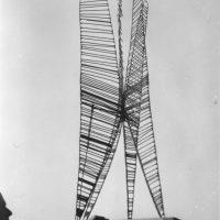 George Wallace - 1st Welded Sculpture, c.1957, welded steel