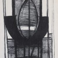 George Wallace - Woman in a Chair (Black Widow), 1956, lithograph