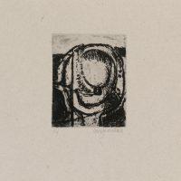 George Wallace - St. Austell folio #1, 1972, soft ground etching