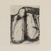 George Wallace - St. Austell folio #4, 1972, hardground etching