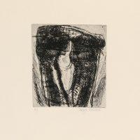 George Wallace - St. Austell folio #5, 1972, etching & sandpaper aquatint