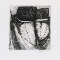 George Wallace - St Austell folio #6, 1972, hardground etching