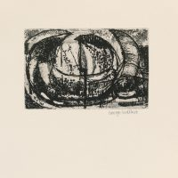 George Wallace - St Austell Remembered Plate #3, 1972, soft & hardground etching