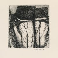 George Wallace - St. Austell Remembered Plate #6, 1972, hardground etching with extensive re-etching in 1997