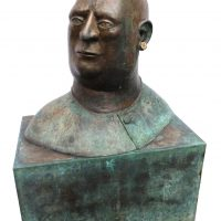 "George Wallace - Bronze Head 10, ""The Boss"""