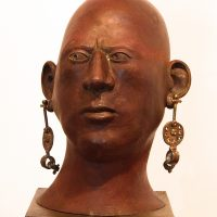 "George Wallace - Bronze Head 3, ""The Young Woman"""