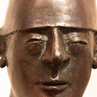 "George Wallace - Bronze Head 6, ""The Fool"""