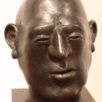 "George Wallace - Bronze Head 1, ""The Deputy"""
