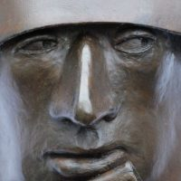 "George Wallace - Bronze Head 9, ""State Security"""