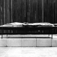 George Wallace - The Dead Christ, 1962, welded steel