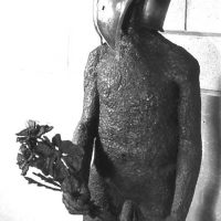 George Wallace - Death with Flowers, 1965, welded steel