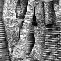 George Wallace - Educational Experience, 1969, welded steel, nickel brazed