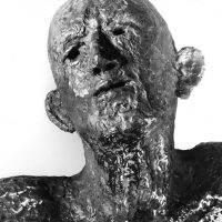 George Wallace - Lazarus Risen from the Dead, 1983, welded steel