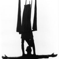 George Wallace - St. John and the Angel, 1968, welded corten steel