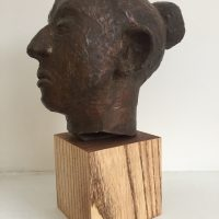George Wallace - Head of Artist's Mother, date unknown, bronze