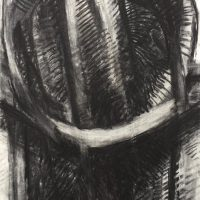 George Wallace - Large Circular Pit, charcoal #16