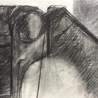 George Wallace - Pit, charcoal #3