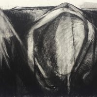 George Wallace - Claypits, charcoal #25