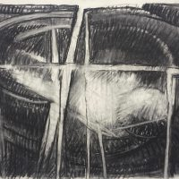 George Wallace - Claypits, charcoal #26