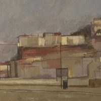 George Wallace - Clifton, Bristol, 1946, gouache