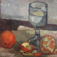 George Wallace - Still Life, c.1946, oil painting on board
