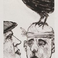 George Wallace - Soothsayer I, 1989, monotype