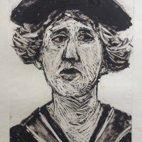 George Wallace - Academic III, 1989, monotype