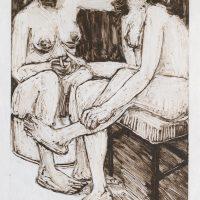 George Wallace - Sunlit Window II, 1991, monotype