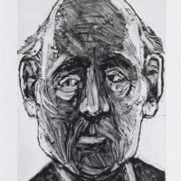 George Wallace - Businessman Guru, 1993, monotype