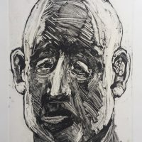 George Wallace - Inmate, 1995, monotype