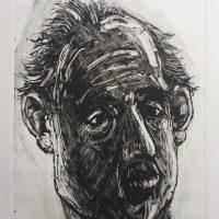 George Wallace - Windblown, 1996, monotype