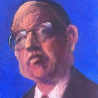 George Wallace - Businessman, pastel