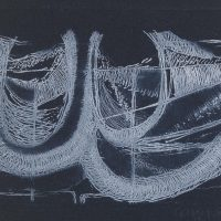 George Wallace - Wind - etching - 1992