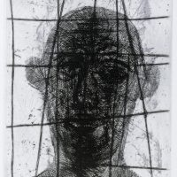 George Wallace - The Prisoner - etching & softground - 1960
