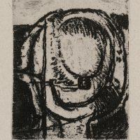 George Wallace - St Austell folio - softground etching - 1972