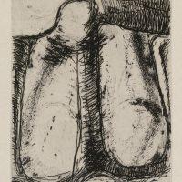 George Wallace - St Austell folio - hardground etching - 1972