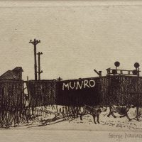 George Wallace - Munro - etching - 1972