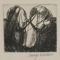 George Wallace - Clay Pit #1 - etching - 1986